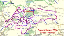 2014 Dolomitterne Sydtyrol